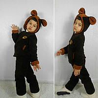 Детская теплая пижама домашний костюм Мишка № 082 (рош)