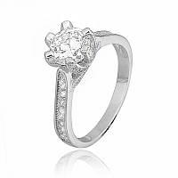 """Серебряное кольцо с камнями """"239"""""""