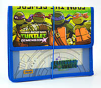 "Папка пластиковая для тетрадей  ""Ninja Turtles - Черепашки ниндзя"" на резинке, ТМ ""1 Вересня"""