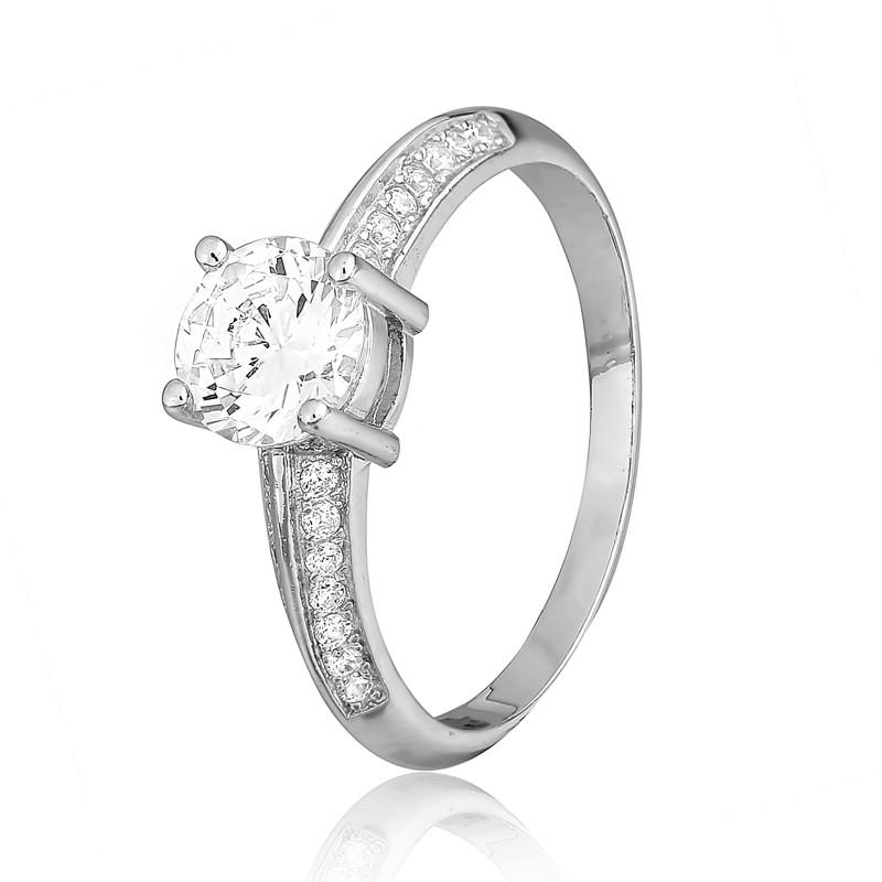 """Серебряное кольцо с камнями """"240"""""""