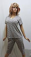 Пижама женская с бриджами хлопок 230