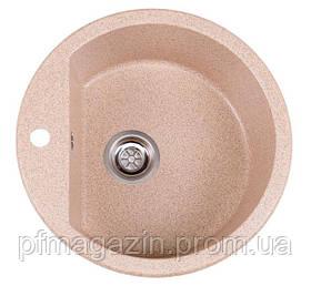 Мойка кухонная Solid Раунд, розовый (ДхГ - 510х180)