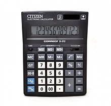 Калькулятор бухгалтерский 12р Citizen Correct D312   155 x 205 x 28