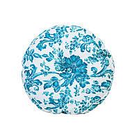 Декоративная подушка круглая Прованс d40 Allure blue