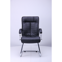 Кресло Орион CF хром Кожа Сплит черная (AMF-ТМ)