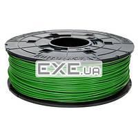Картридж с нитью 1.75мм/ 0.6кг PLA XYZprinting Filament для da Vinci, зеленый (RFPLAXEU01C)