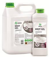 """Средство для прочистки канализации Grass """"Krot gel"""", 5 кг."""