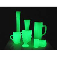 Краска светящаяся AcmeLight для стекла зеленая (обжиговая)