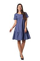 Женское платье Бриана А4  новинка, повседневное, красивое  размеров  44, 46, 48, 50, 52 льняное