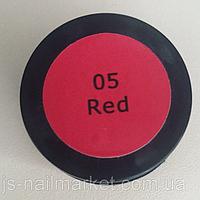 Гель краска красная 5г.