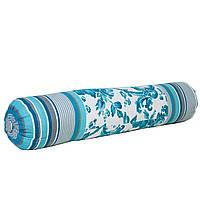 Декоративная подушка валик Прованс 40х40 Allure blue