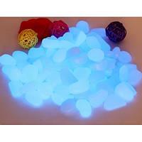 Светящиеся пластиковые камни AcmeLight PVC голубое