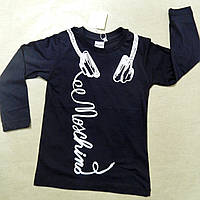 Тонкая модная  кофта  MOSCHINO с длинным рукавом для мальчика 4-14 лет