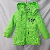 Куртка осень-весна детская на девочку ( XL - 5XL )