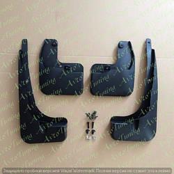 Комплект передних и задних брызговиков для Toyota Rav 4 2015-2017