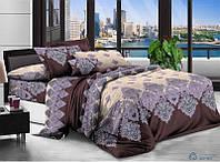 Полуторный набор постельного белья из Ранфорса №302 Черешенка™