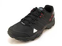 Кроссовки  трекинговые Adidas Core-Tex текстиль черные унисекс (р.38,39)