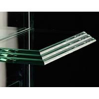 Обработка фигурной кромки стекла прямолинейная 12 мм
