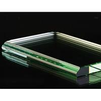 Обработка фигурной кромки стекла прямолинейная 19 мм