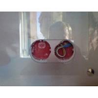 Вырез 2-х розеток на стекле 4-12 мм