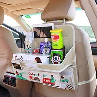 Органайзер в автомобиль с раскладным столиком