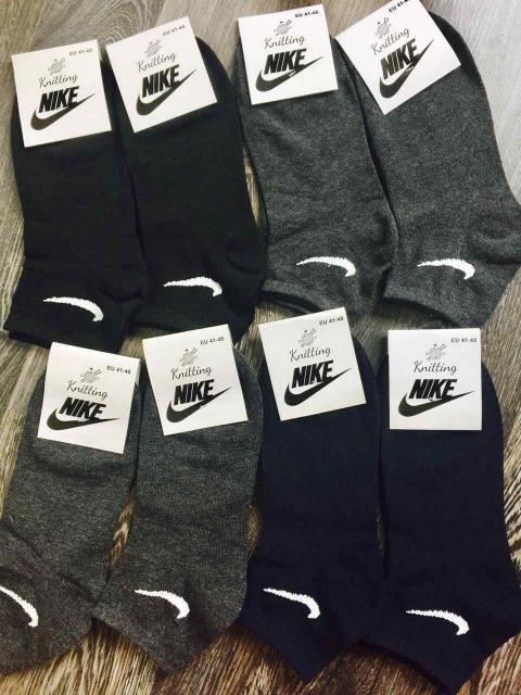 Носки мужские Nike реплика в стиле 41-45 Стрейч Хлопок