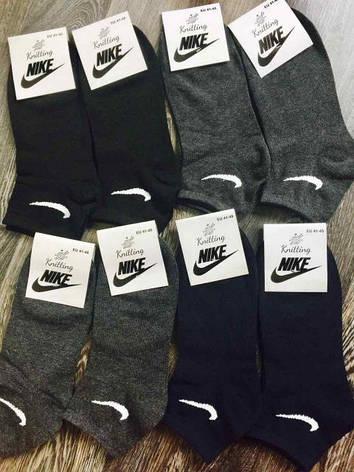 Носки мужские Nike реплика в стиле 41-45 Стрейч Хлопок, фото 2