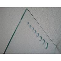 Сверление отверстий диаметром 5,6,8,10,12мм стекла 5 мм