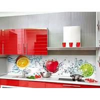 Кухонный фартук из супер чистого стекла с фотопечатью
