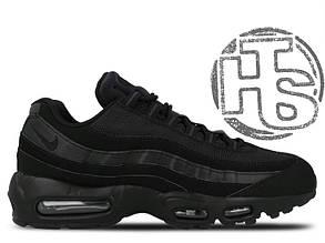 Мужские кроссовки Nike Air Max 95 Triple Black 609048-092