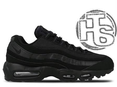 Мужские кроссовки Nike Air Max 95 Triple Black 609048-092, фото 2