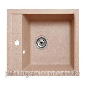 Мойка кухонная Solid Бриз, песок (ДхШхГ-515х460х200)