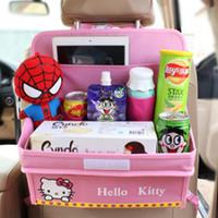 Столик - органайзер в автомобиль Китти Розовый (04013)
