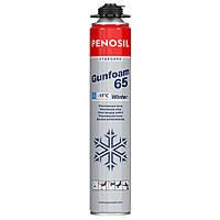 Пена монтажная зимняя 65л PRO Penosil Standart  Winter ,серый баллон