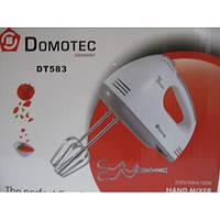 Миксер ручной DOMOTEC DT-583, миксер ручной, миксер кухонный, бытовой
