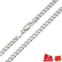 Цепочка серебро панцирная с алмазной гранью 50см