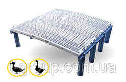 Решетчатый пол для птицы 100х100 см
