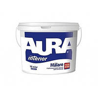 Краска глубокоматовая ультрабелая для потолков Aura Malare