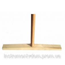 Швабра деревянная прямая разборная (40 см)