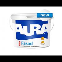 Краска акриловая матовая фасадная Aura Fasad