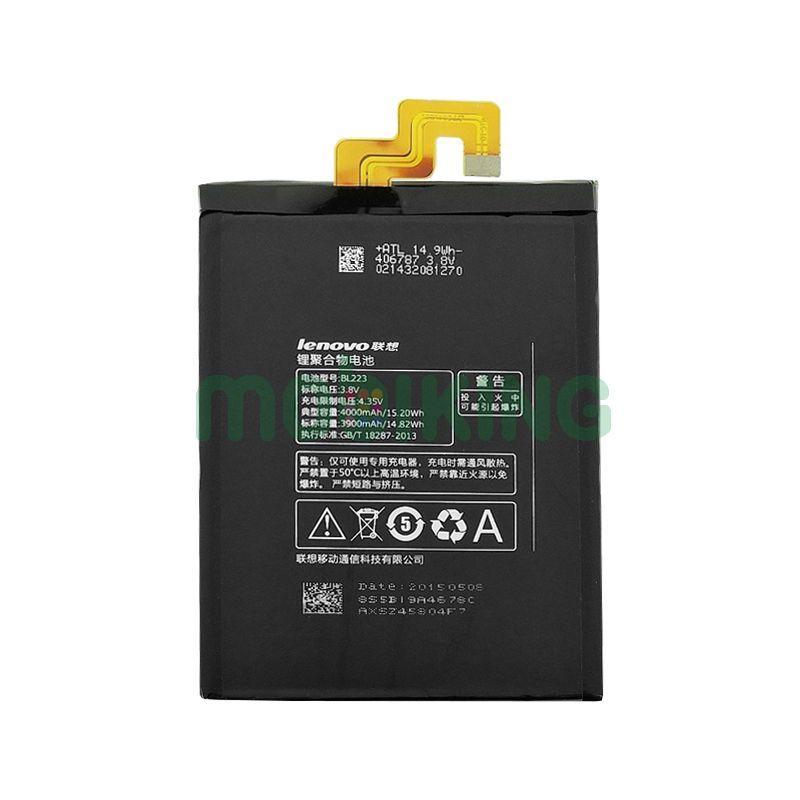 Оригинальная батарея Lenovo K920/Vibe Z2 (BL-223) для мобильного телефона, аккумулятор для смартфона.