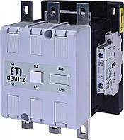 Контактор силовой CEM (3-полюсные, 3-силовых контакта), ETI, 2 Н.О.+2 Н.З., 230 V, 180