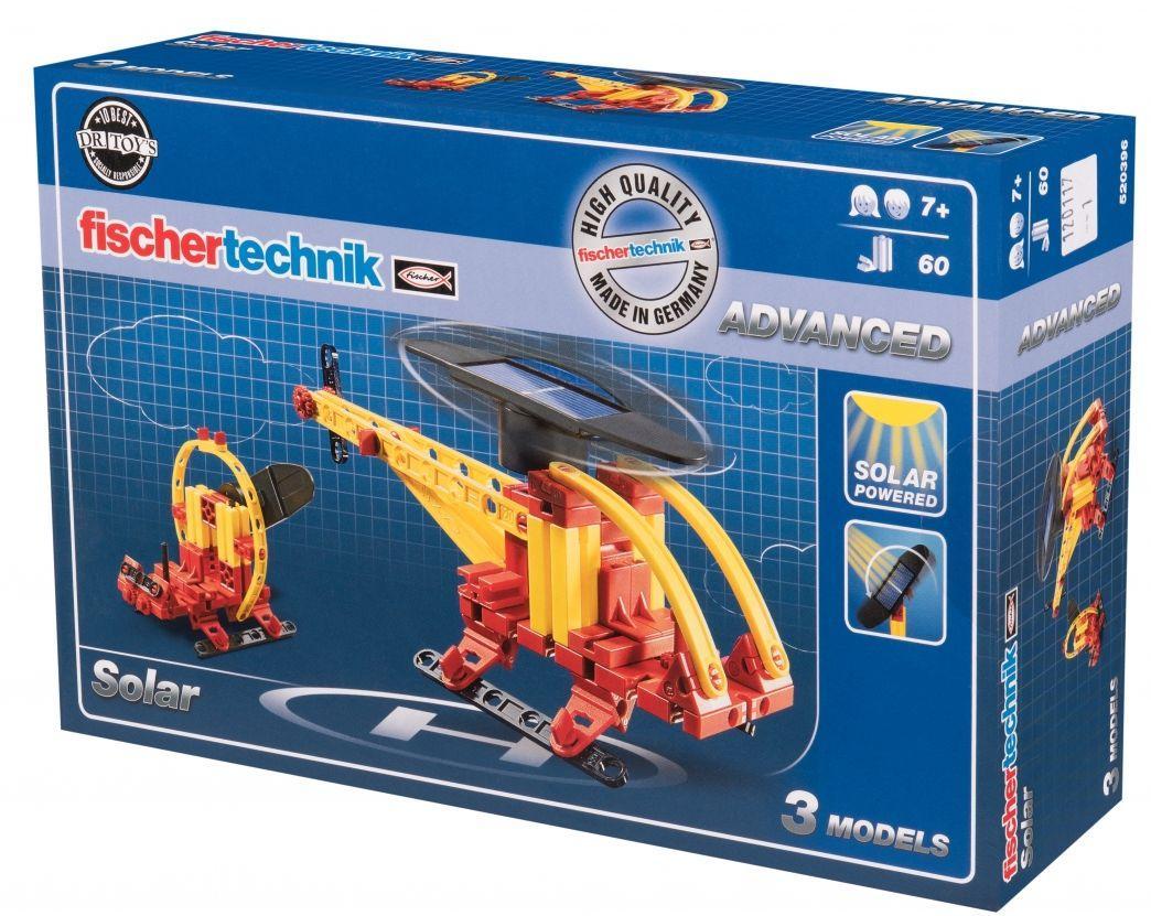 Детский конструктор Солнечная батарея Fischertechnik FT-520396