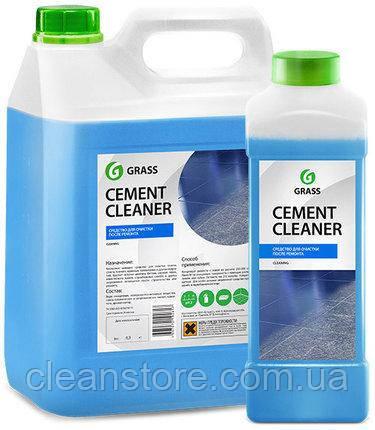 """Очиститель после ремонта Grass """"Cement Cleaner"""", 5,9 кг."""