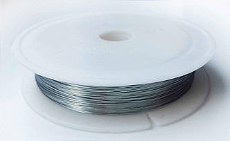 Проволока для бисера Серебро 0,30 мм 30 метров