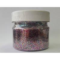 Глиттер 0,6 мм (1/40) Mix Tricolor