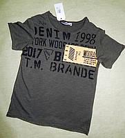 Модная  футболка для мальчика woorage   98-164
