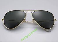 Солнцезащитные Очки унисекс Ray Ban 3025 3026 Aviator комплект,стекло