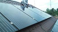 Реализованный объект в г. Луцк. Автономная солнечная станция 4 кВт. Для собственных нужд.