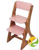 Детский стул растишка Mobler Розовый